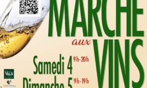 📅 Rdv le 4 &5 septembre au Marché aux vins de Saint-Péray 🍷